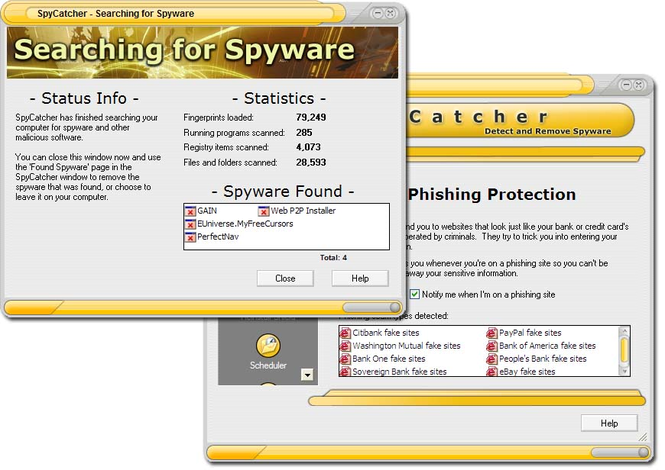 SpyCatcher Screenshot