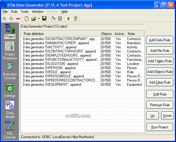DTM Data Generator Screenshot 3