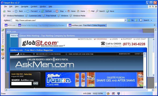 Web browsers Screenshot 1