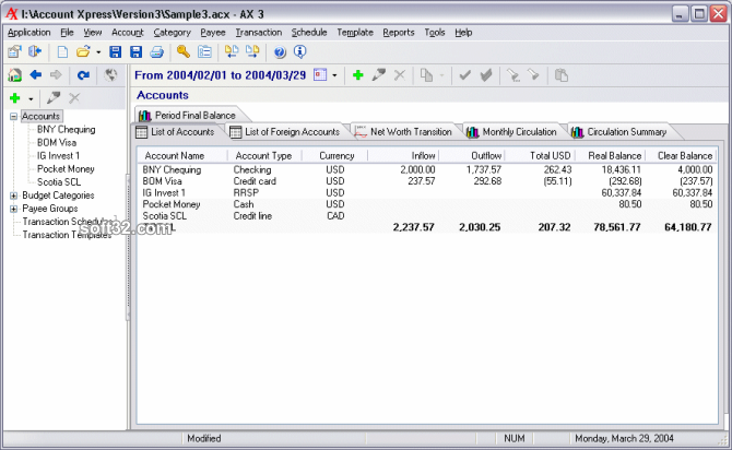 Account Xpress Screenshot 3