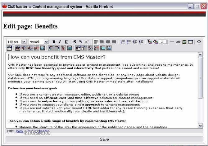 Online Website Builder Screenshot 2