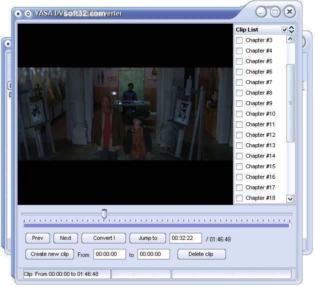 YASA DVD to AVI Converter Screenshot 2
