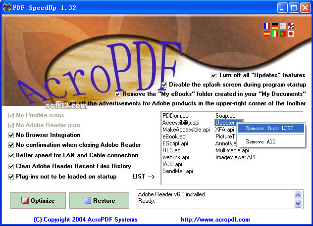 PDF SpeedUp Screenshot 2