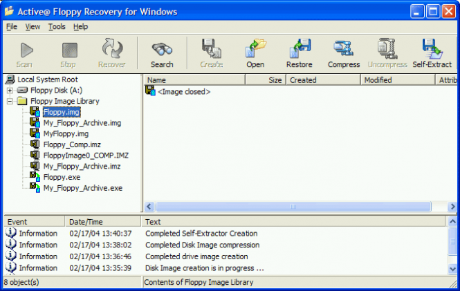 Active@ Floppy Recovery Screenshot 4