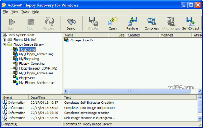 Active@ Floppy Recovery Screenshot 2