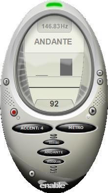 enable Metronome Screenshot