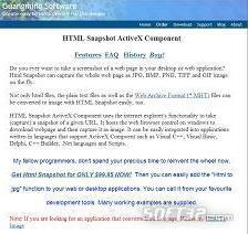 HTML Snapshot Screenshot 3
