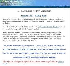 HTML Snapshot Screenshot 1