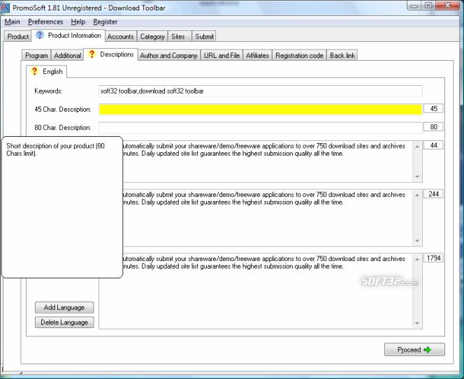 PromoSoft Screenshot 3