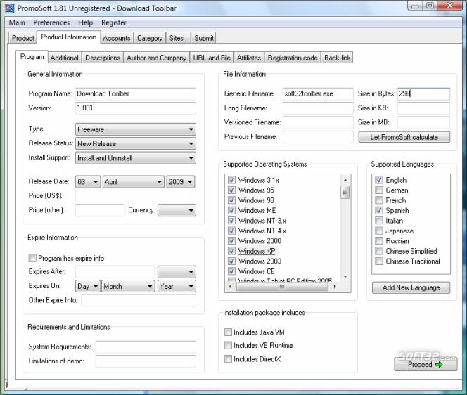 PromoSoft Screenshot 6