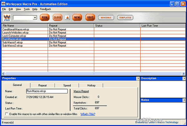 Workspace Macro Pro - Automation Edition Screenshot 2