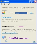 HomeMail Professional edition Screenshot