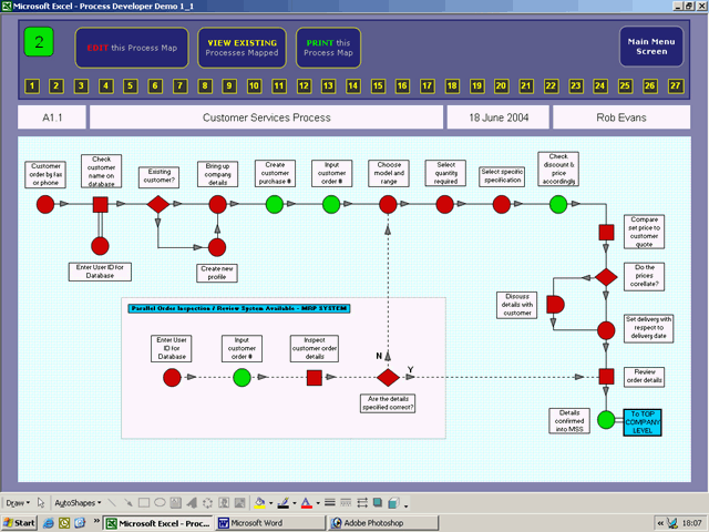 Process Developer Enterprise Edition Screenshot