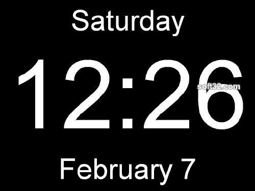 Huge Clock Screenshot 3