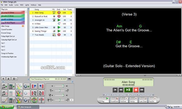 Solo Performer Show Controller Screenshot 2