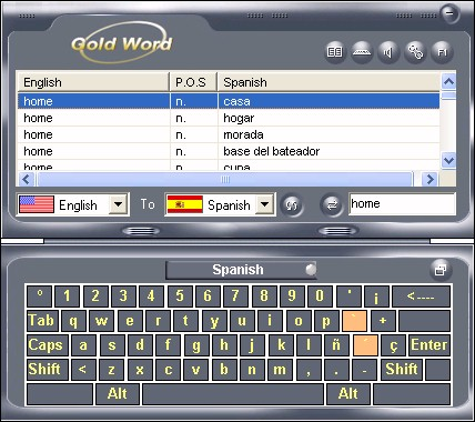 GoldWord Pro Screenshot 1