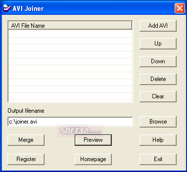 008Soft AVI Joiner Screenshot 2