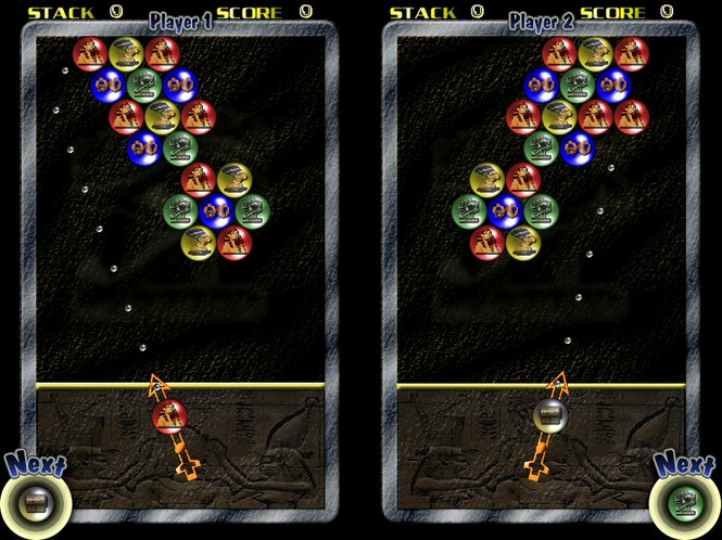 Pharaohs Bubbles Screenshot