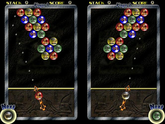 Pharaohs Bubbles Screenshot 1