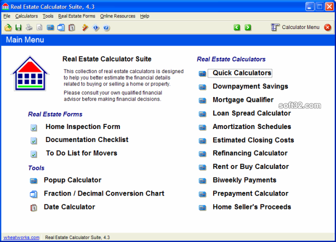 Real Estate Calculator Suite Screenshot 3