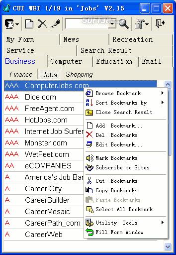 SuperCool Bookmark Screenshot 2