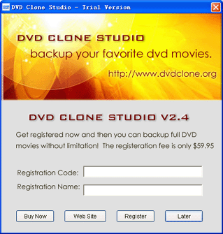 DVD Clone Studio Screenshot