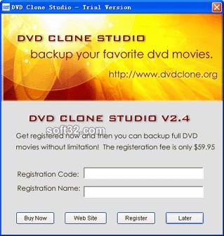 DVD Clone Studio Screenshot 2