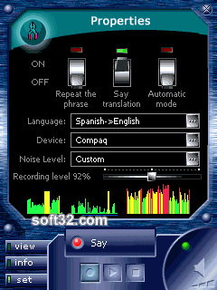 ECTACO Voice Translator English <-> Spanish Screenshot 2
