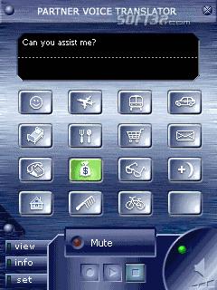 ECTACO Voice Translator English -> Chinese Screenshot 2
