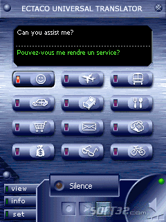 ECTACO Voice Translator English -> French Screenshot 2