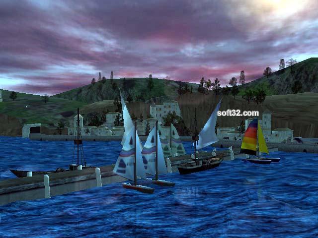 Seascape 3D Screensaver Screenshot 2