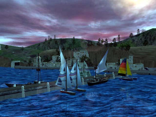 Seascape 3D Screensaver Screenshot
