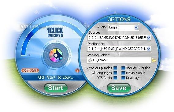 1CLICK DVD COPY 5 Screenshot 3