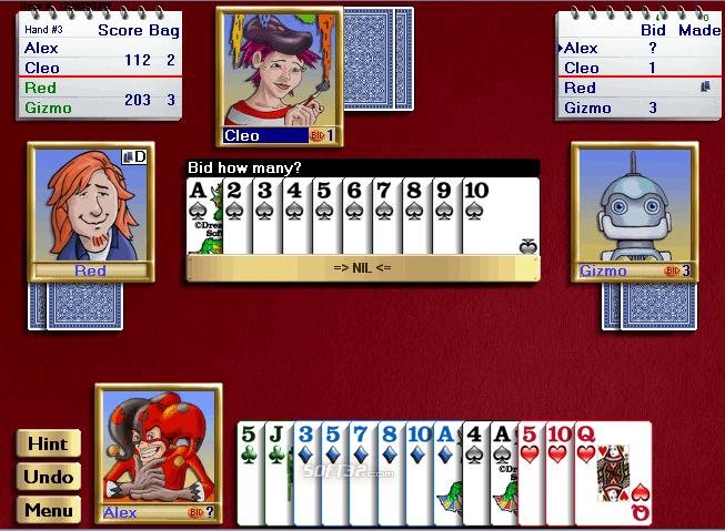 Championship Spades for Windows Screenshot 3