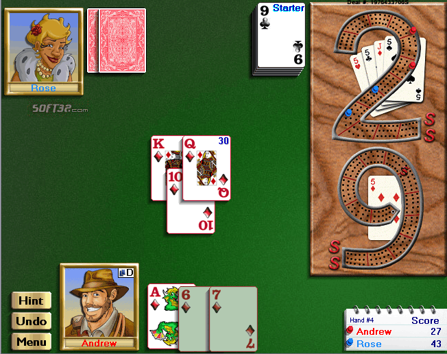 Championship Cribbage for Windows Screenshot 3