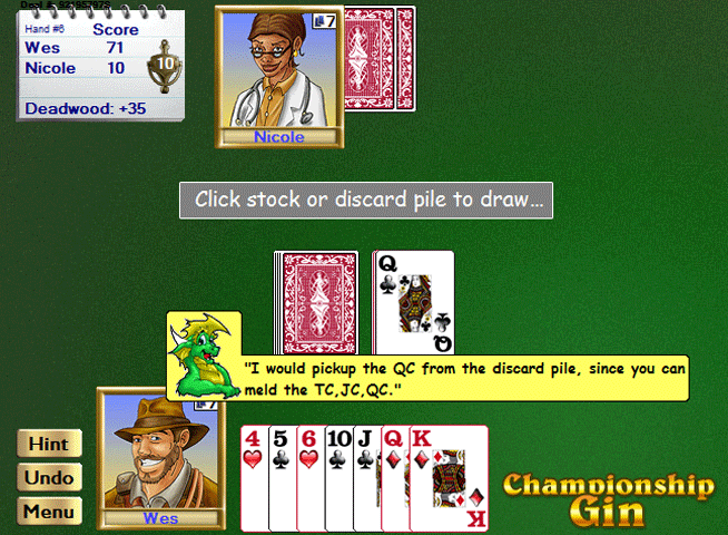Championship Gin All-Stars for Windows Screenshot 1