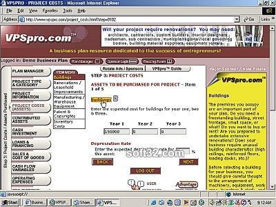 Venture Planning System Pro - VPSpro Screenshot 3
