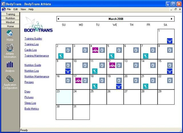 BodyTrans Screenshot