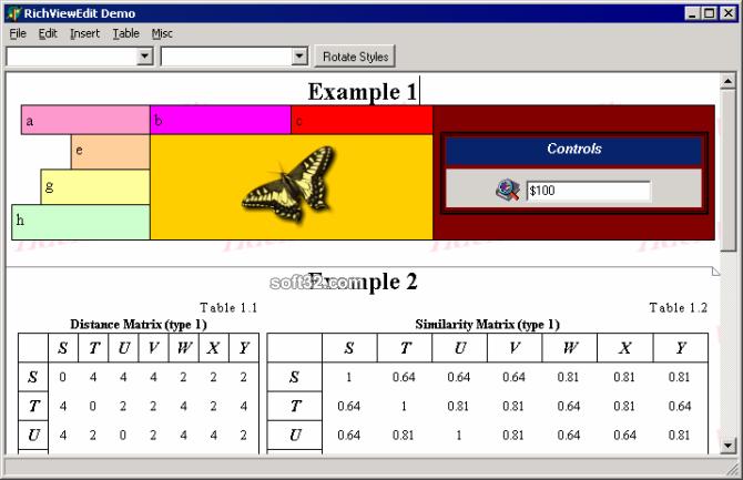 RichView (Delphi version) Screenshot 3
