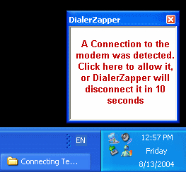 DialerZapper Screenshot