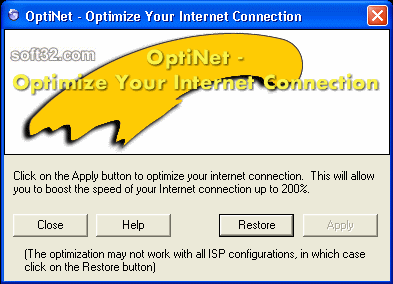 OptiNet Screenshot 2