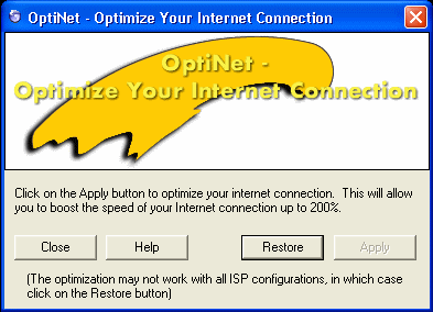 OptiNet Screenshot