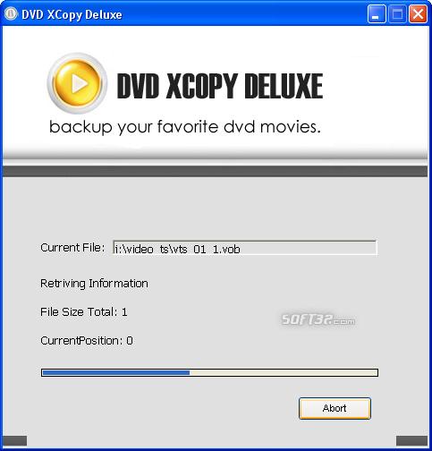 DVD XCopy Deluxe Screenshot 3