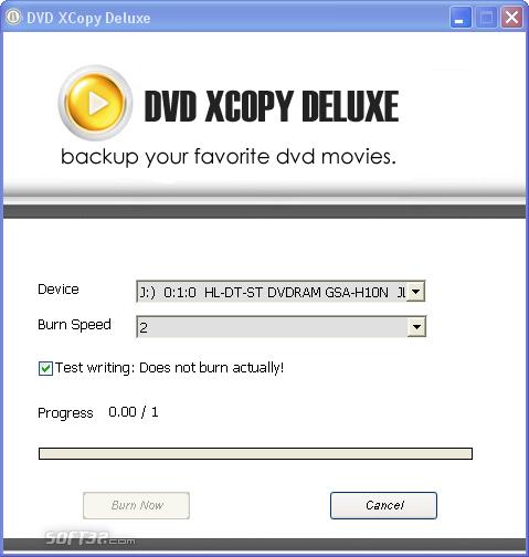 DVD XCopy Deluxe Screenshot 4