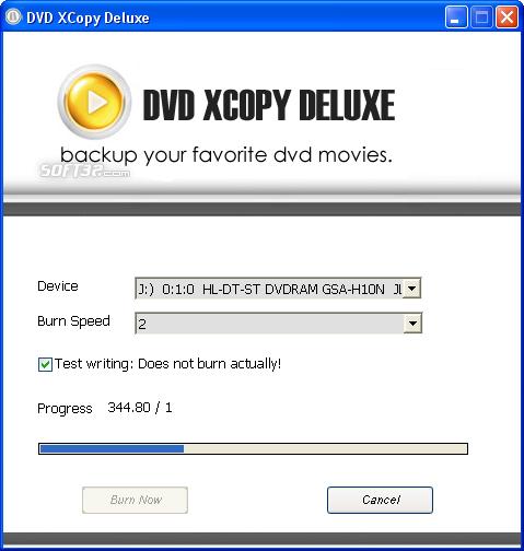 DVD XCopy Deluxe Screenshot 5