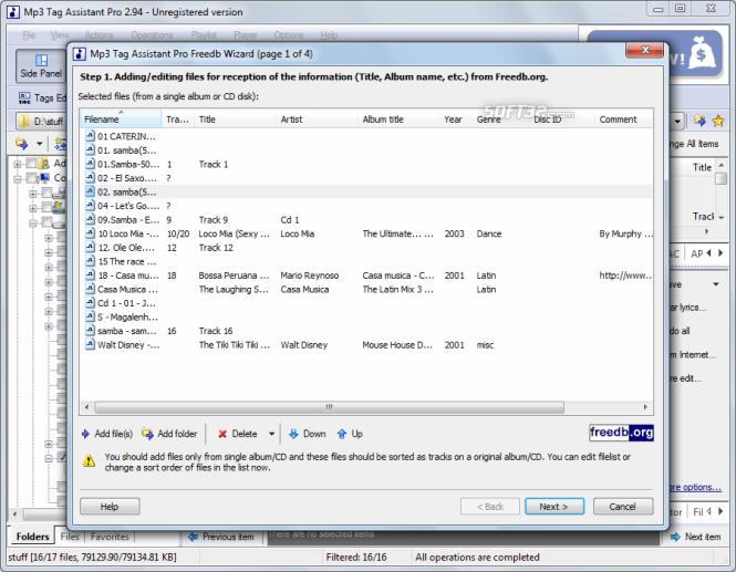 Mp3 Tag Assistant Professional Screenshot 6