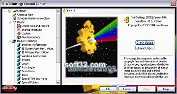 WinSettings Screenshot 3