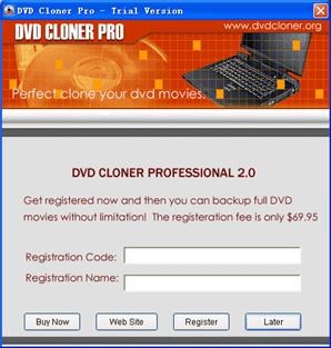 DVD Cloner Pro Screenshot 1