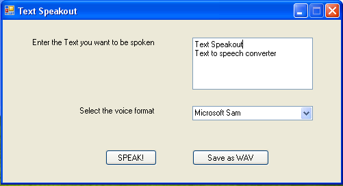 Text Speakout - Text to speech converter Screenshot 1