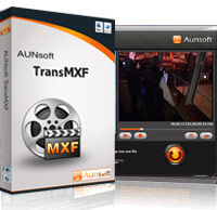 Aunsoft TransMXF for Mac Screenshot 1